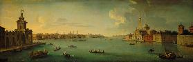 Panorama of the Bacino di San Marco, Venice