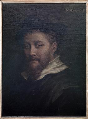 Portrait presumed to be of the artist