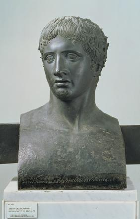 Portrait bust of Demetrius I Poliorcetes, King of Macedonia (c.337-283 BC)