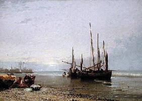 Luggers on the Beach at Treport