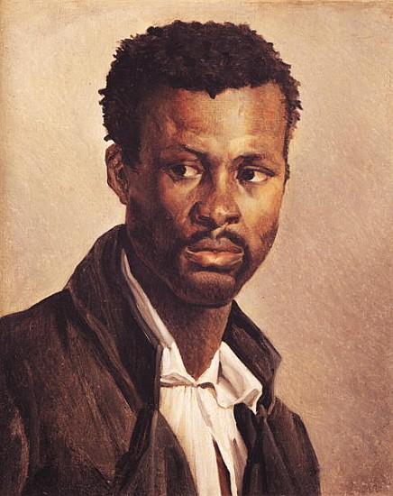 A Negro, 1823-24 - (attr. to) Theodore Gericault