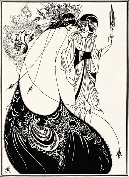 from Theo beardsley the peacock skirt