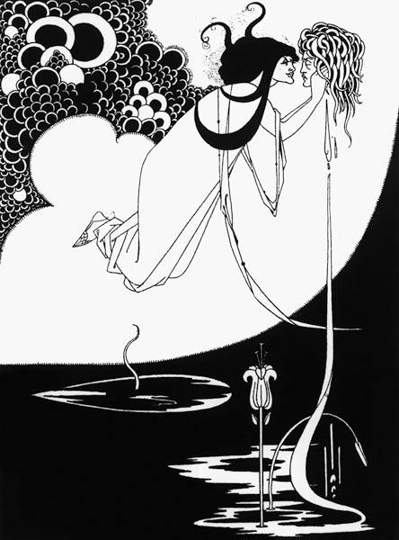 Illustration for Salome by Oscar Wilde