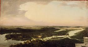 View of Potsdam in the 17th century