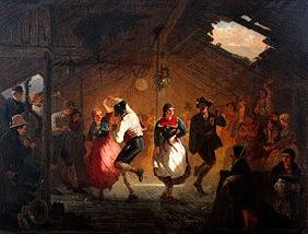 Fair dance on the threshing floor