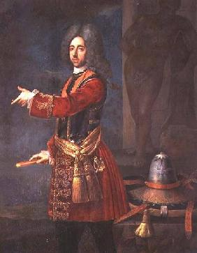 Prince Eugene of Savoy (1663-1736) at the Siege of Belgrade
