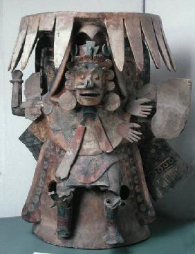 Anthropomorphic Brazier, found in area of Templo Mayor