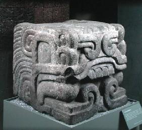 Head of a Feathered Serpent
