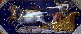 The Nymph Callisto on Jupiter's Chariot, ceiling decoration from the 'Sala di Galatea'