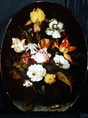 Still Life of Flowers in a Vase, 1624
