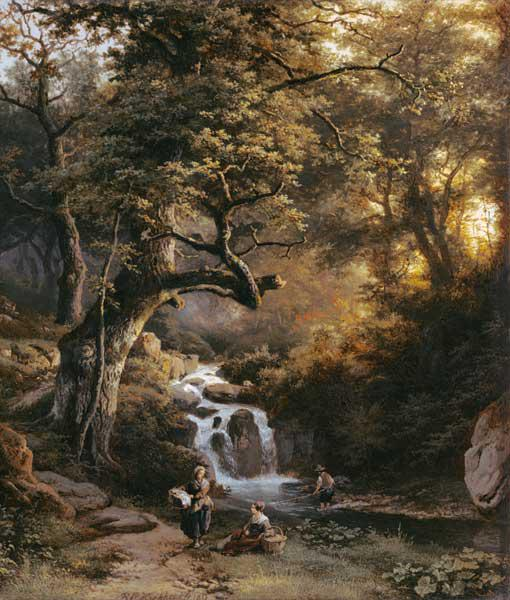 The Wooded Stream (fishing)