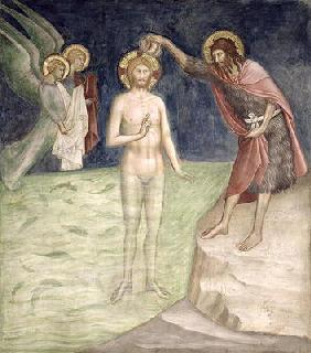 Baptism of Christ, from a series of Scenes of the New Testament (fresco)