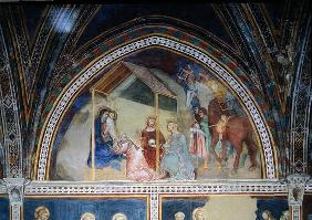 The Adoration of the Magi, from a series of Scenes of the New Testament (fresco)