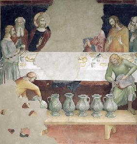 The Marriage at Cana, from a series of Scenes of the New Testament (fresco)