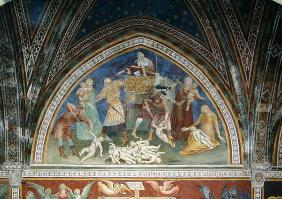 The Massacre of the Innocents, from a series of Scenes of the New Testament (fresco)