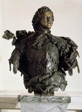 Portrait Bust of Emperor Peter the Great