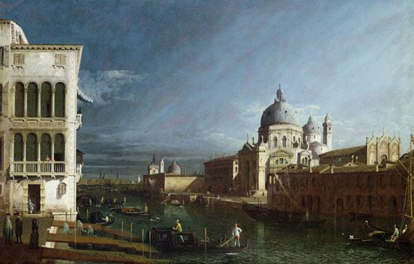 The Molo Looking West with the Doges' Palace in the Distance