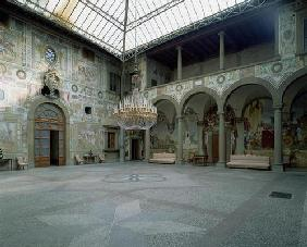Internal courtyard, (photo)