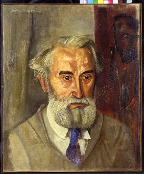 Portrait of the sculptor Sergey Konenkov (1874-1971)