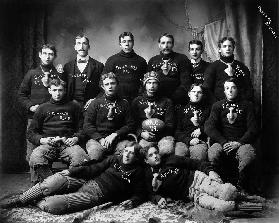 State Agricultural College football eleven, 1899