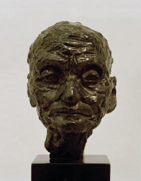 Head of an Old Man (Study of Old Age)