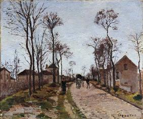 The Road to Saint Cyr at Louveciennes