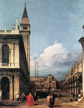 The Piazzetta against the Torre dell ' Orologio