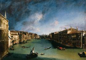 The Canal grandee of the Palazzo Balbi against Rialto