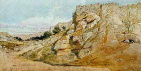 The Northern Wall of Jerusalem