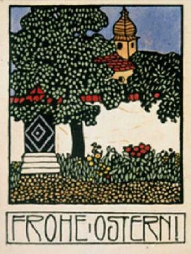 Happy Easter! Map of the Wiener Werkstätten, No. 193