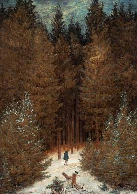 The Chasseur in the woods