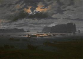 Northern Sea in the Moonlight