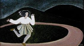 Round and Round, 1988 (oil on canvas)