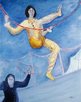 The Acrobat, 1983 (oil on canvas)