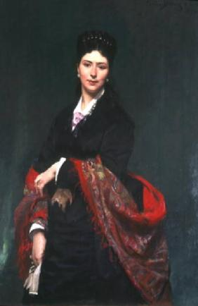 Portrait of Mrs Marie Clerc