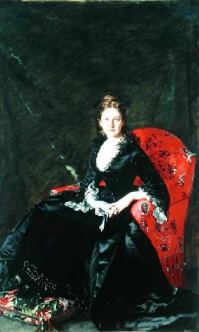 Portrait of Mme N.M. Polovtsova