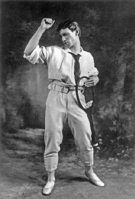 Vaslav Nijinsky in the Ballet Jeux by Claude Debussy