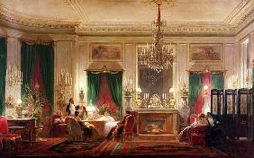 Salon of Princess Mathilde Bonaparte (1820-1904) Rue de Courcelles, Paris