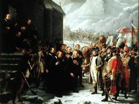 The First Consul Visiting the Hospice of Mont Saint-Bernard, 20th May 1800