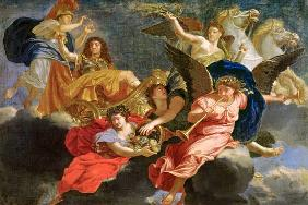 Apotheosis of King Louis XIV of France