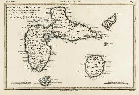 The Islands of Guadeloupe, Marie-Galante, La Desirade, and the Isles des Saintes, French colonies in