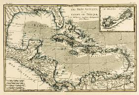 The Antilles and the Gulf of Mexico, from 'Atlas de Toutes les Parties Connues du Globe Terrestre' b