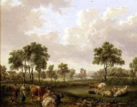 Landscape with Figures