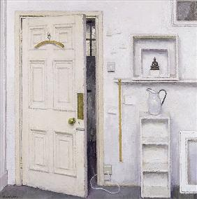 Meditation on a Door I, 2004 (oil on canvas)