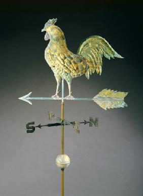 Molded And Gilt Copper Weathervane