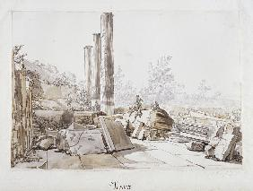 Ruins of the Temple of Serapis at Pozzuoli