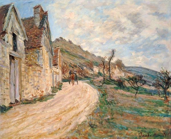 Landscape with traps at Giverny. - Claude Monet riproduzione stampata o  copia dipinta a mano e ad olio su tela