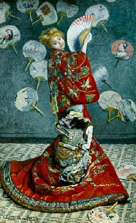La giapponese, Madame Monet in costume giapponese 1876