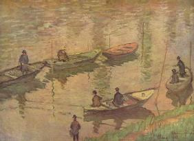 Anglers on the Seine at Poissy