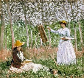 Blanche Monet Painting